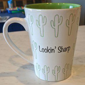 Lookin' Sharp Cactus Coffee Cup Mug